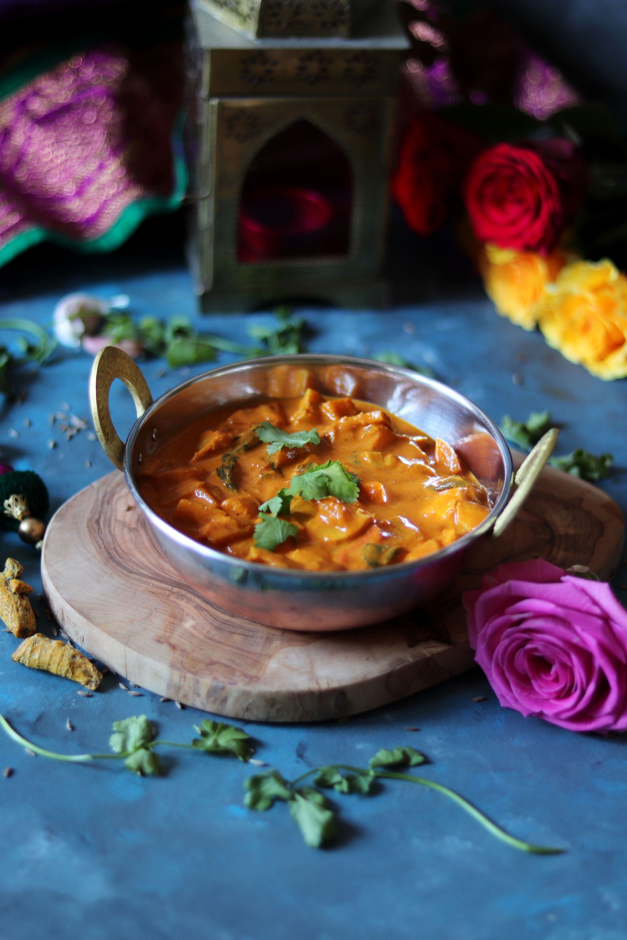 Mixed vegetable curry (vegan)