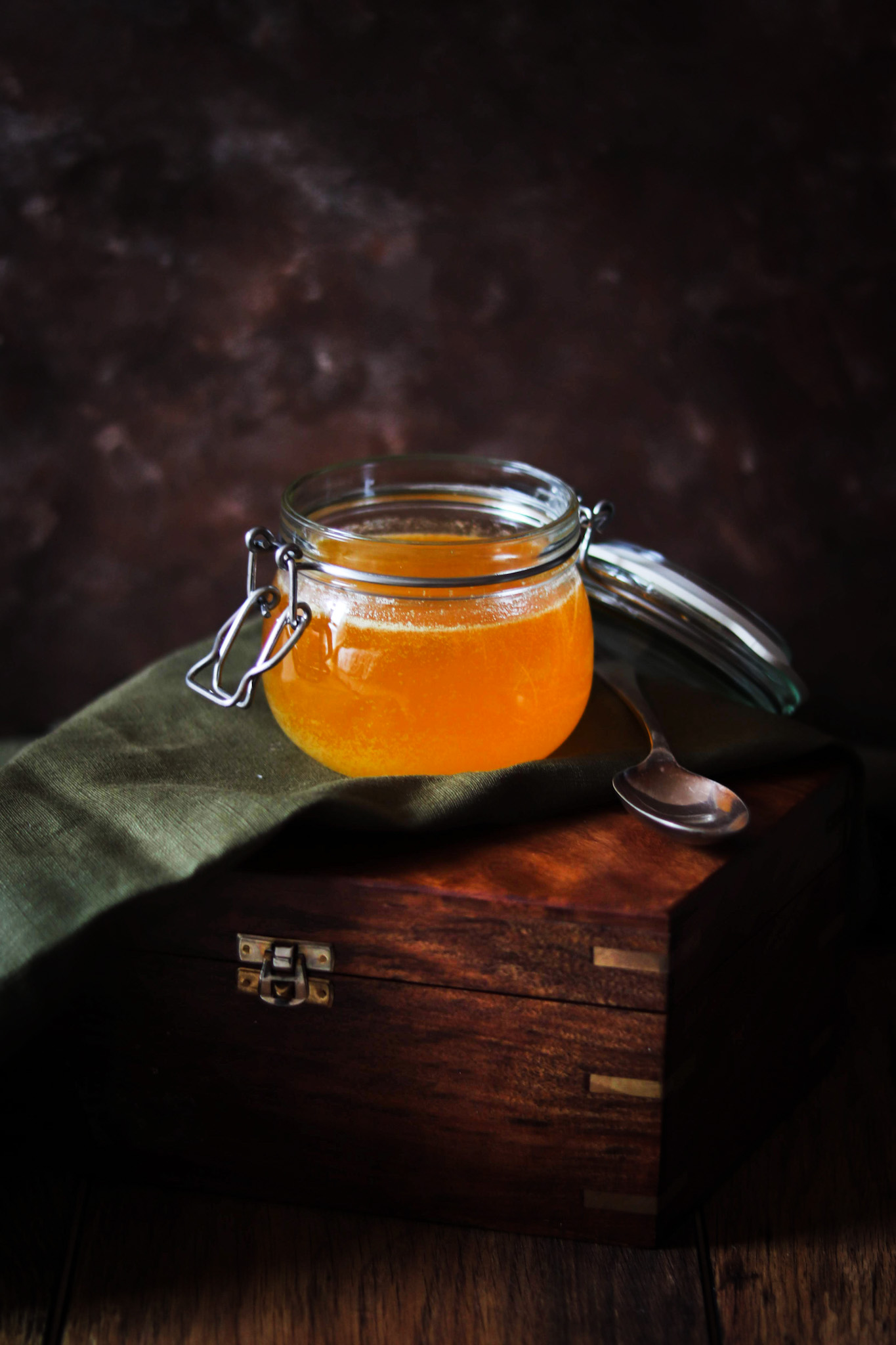 Homemade Ghee and it's benefits