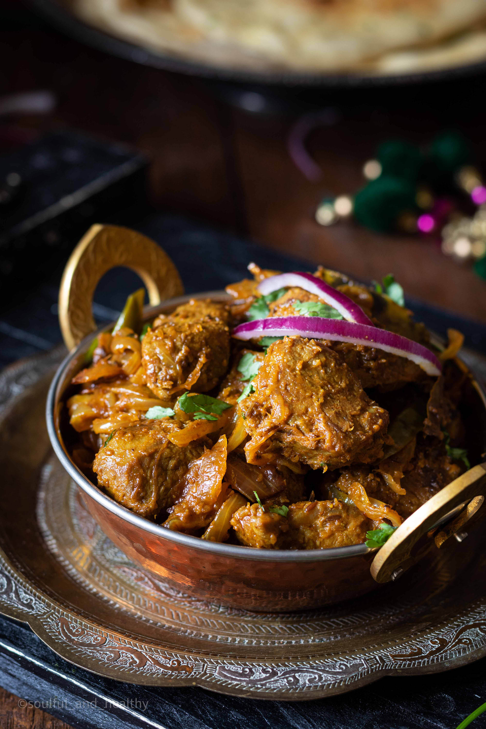 Lamb do Pyaza (Lamb and onion curry) - SP
