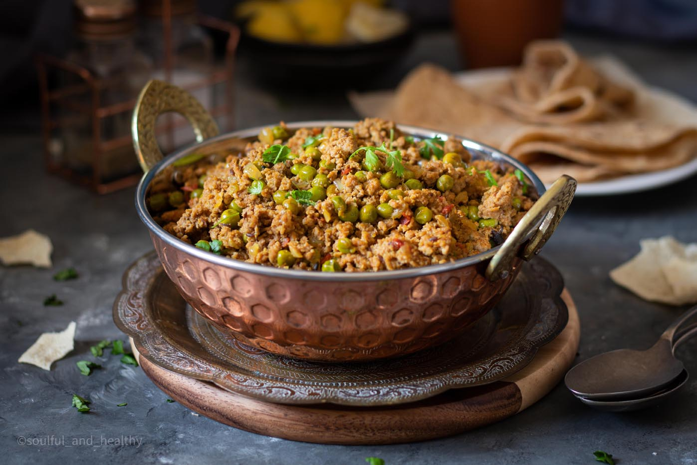 Keema Matar (Lamb mince with green peas curry) SP