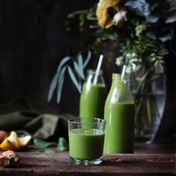 Immune boosting green smoothie